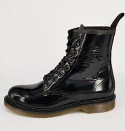 Bibop Leren Boot - Zwart Lak