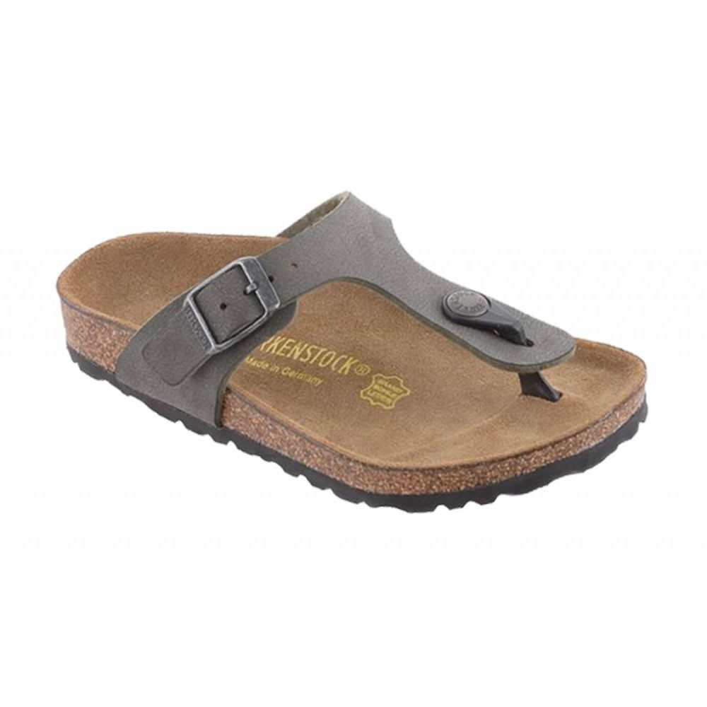 Birkenstock Gizeh Brushed Emerald Green - smalle fit