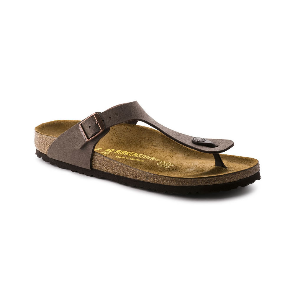 Birkenstock Gizeh Mocca - regular fit