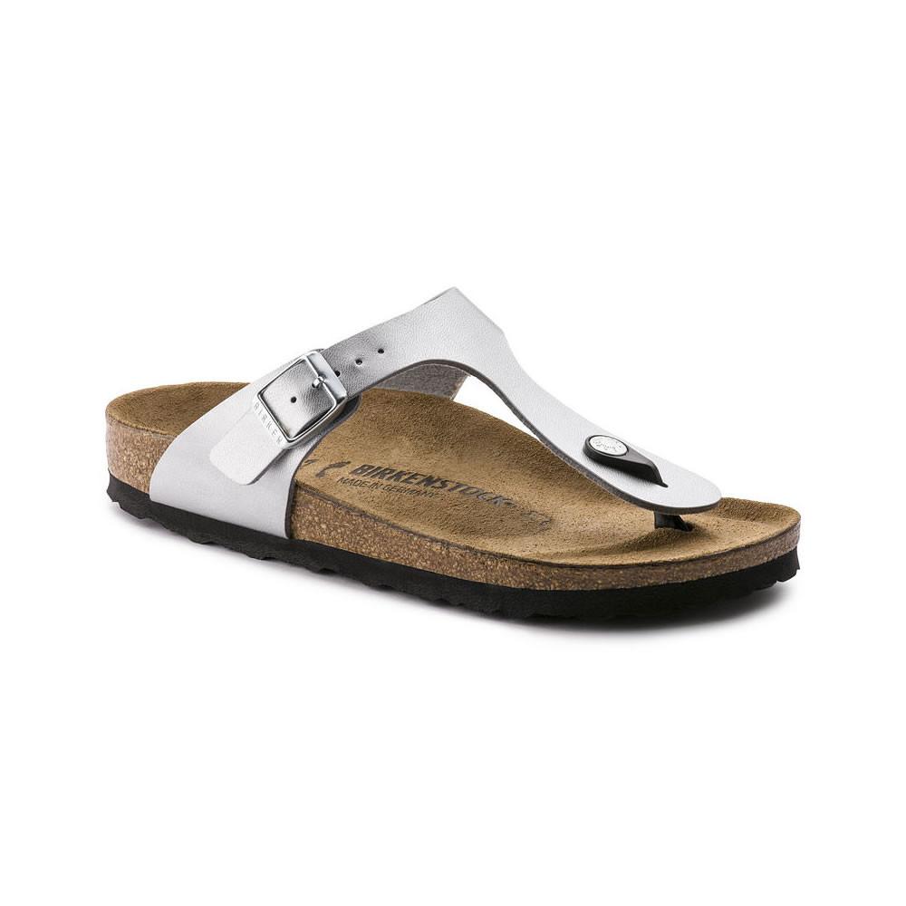 Birkenstock Gizeh Silver - regular fit