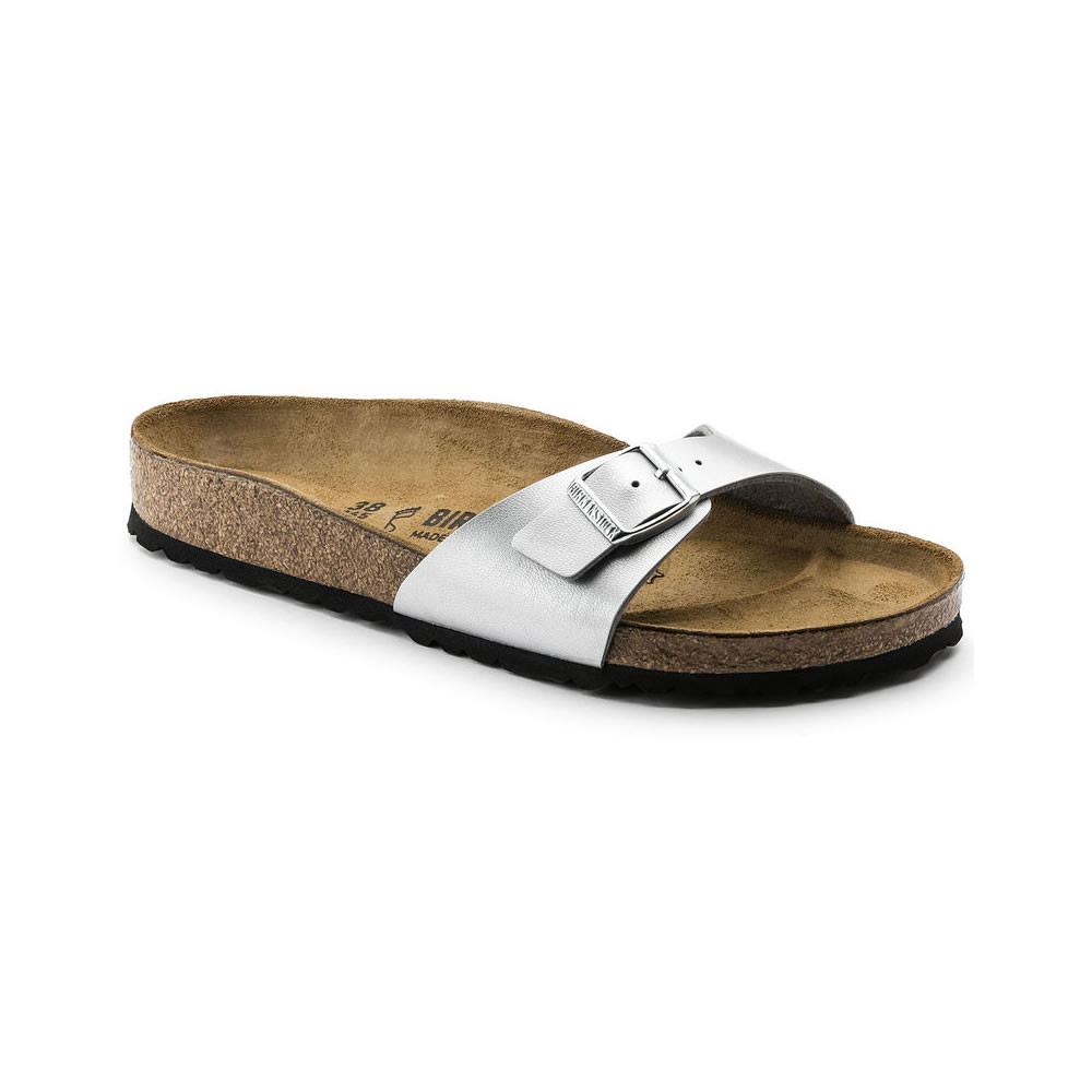 Birkenstock Madrid Silver - Narrow fit