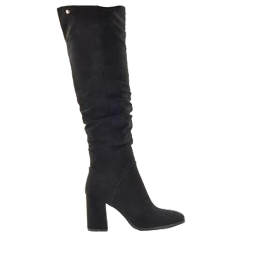 Fabs Lange Laarzen - Zwart