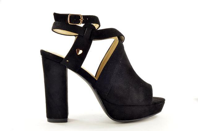 Fabs Sandalet - Zwart