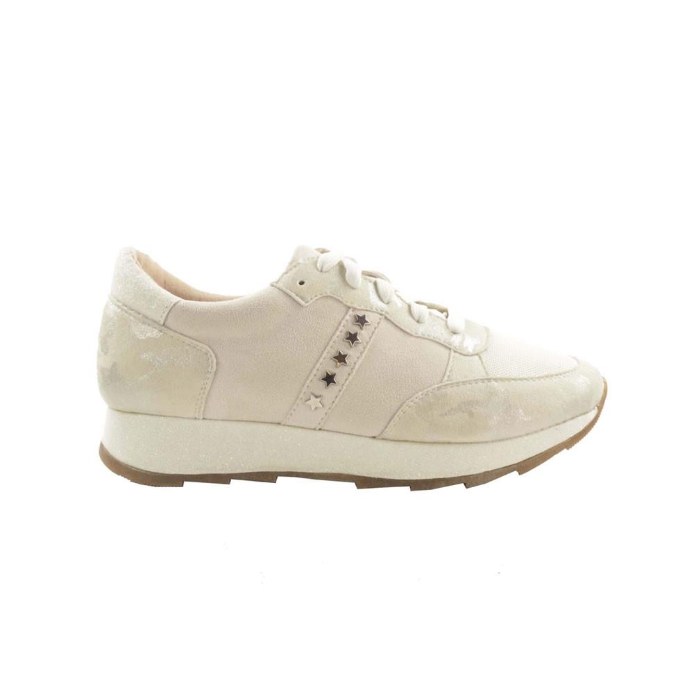 Fabs Studs Sneaker Beige