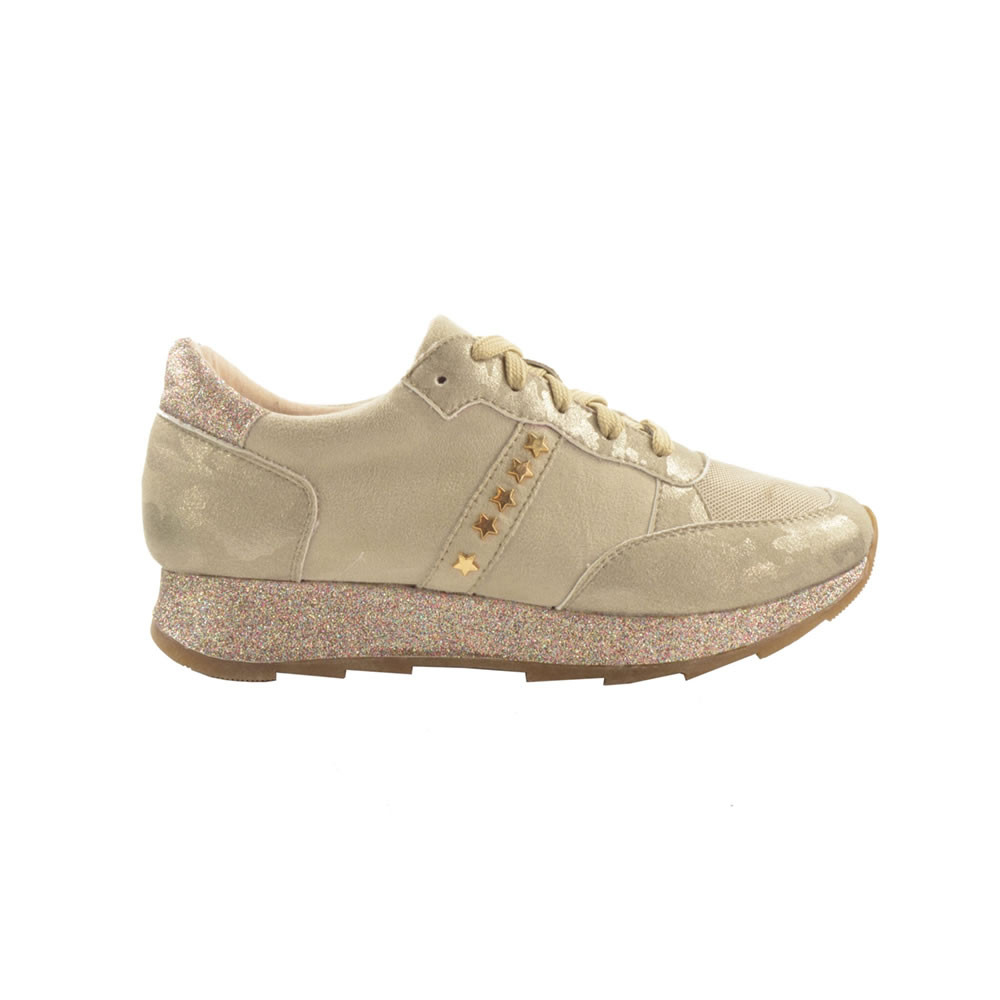 Fabs Studs Sneaker champagne