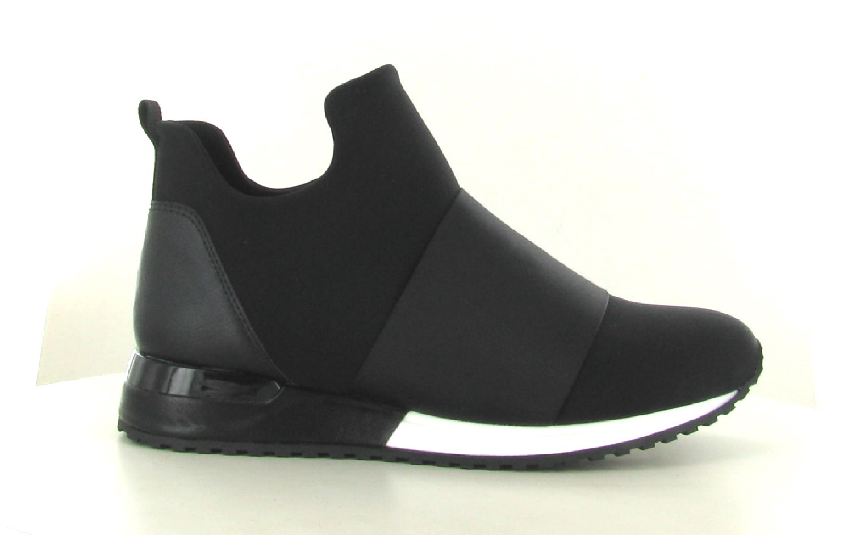 La Strada Sneaker Lycra Black Camouflage